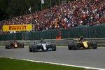 Carlos Sainz (Renault), Valtteri Bottas (Mercedes) und Daniel Ricciardo (Red Bull)