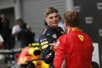 Max Verstappen (Red Bull) und Sebastian Vettel (Ferrari)