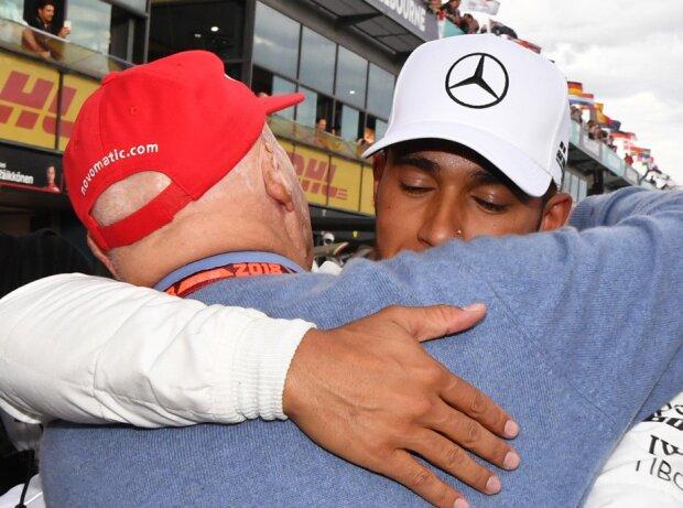 Lewis Hamilton, Niki Lauda