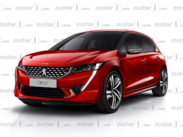 Peugeot 208 2019 Sieht Er So Aus