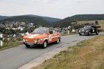 Sachsen Classic 2018: Skoda S 110R (vorne) und Volkswagen Typ 1 Pritschenwagen