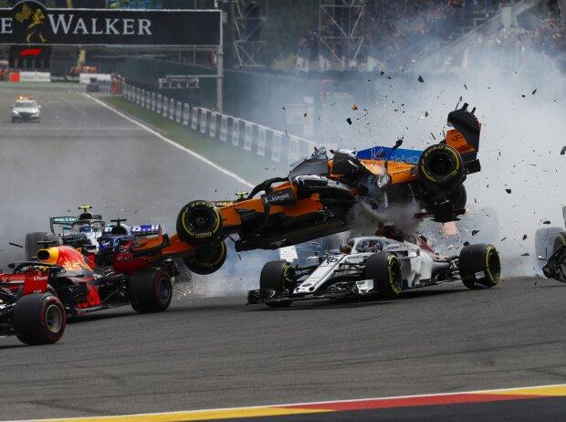 Fernando Alonso, Nico Hülkenberg, Charles Leclerc