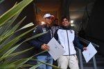 Esteban Ocon (Racing Point) und Lance Stroll (Williams)