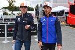 Max Verstappen (Red Bull) und Pierre Gasly (Toro Rosso)