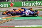 Fernando Alonso (McLaren) und Pierre Gasly (Toro Rosso)