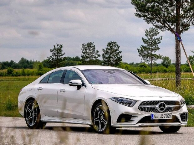 Mercedes Cls 350d 2018 Test Dieses Paket Passt Fast Perfekt