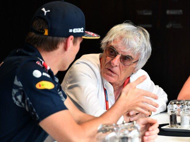 Max Verstappen, Bernie Ecclestone