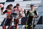 Andrea Dovizioso (Ducati), Marc Marquez (Honda) und Cal Crutchlow ()