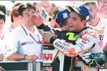 Cal Crutchlow (LCR) und Marc Marquez (Honda)