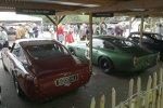Etwas günstiger als die 250er-Ferrari sind diese beiden Aston Martin DB4 GT. Ein entzückender Anblick, finden Sie nicht auch?