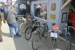 Lust auf Fahrrad? Selbst für Pedalritter wurde auf dem Goodwood Revival 2018 etwas geboten.