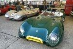 Extreme Flachmänner: Zwei Lotus-Climax 15 der Baujahre 1958 und 1959.