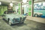 Ein Foto mit doppelter Bedeutung: Schon zu Lebzeiten stand der BMW 503 (vorne) im Schatten seines berühmten Bruders, dem 507.