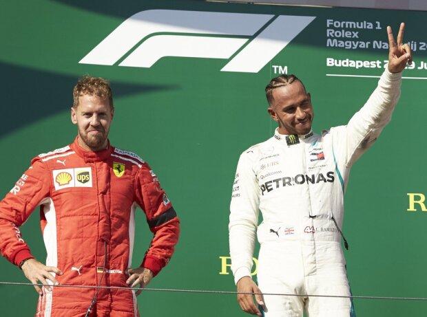 Sebastian Vettel, Lewis Hamilton, Kimi Räikkönen