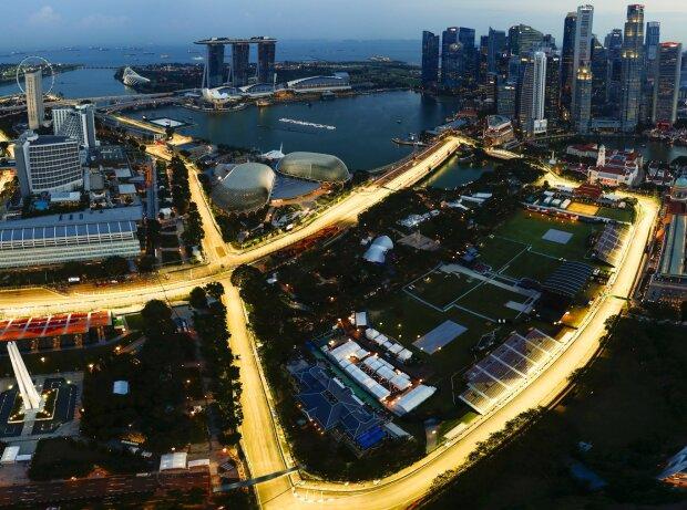 Singapur, Strecke