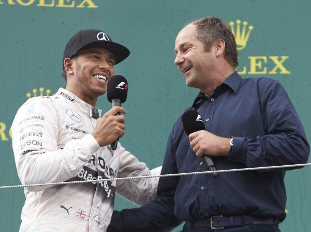 Lewis Hamilton, Gerhard Berger