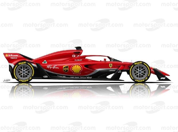 Ferrari, Studie, 2021