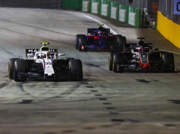 Sergei Sirotkin, Romain Grosjean, Pierre Gasly