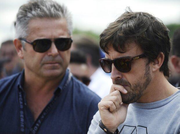 Gil de Ferran, Fernando Alonso