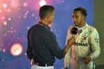 Lewis Hamilton (Mercedes) und David Coulthard