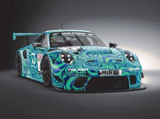 Falken Porsche 911 GT3 R 2019