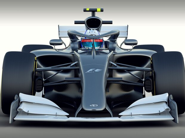 Formel-1-Studie für 2021