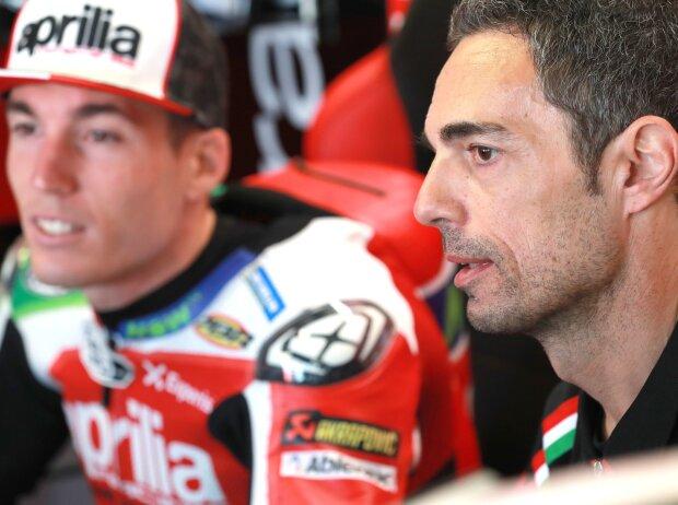 Aleix Espargaro, Pietro Caprara