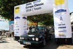 ADAC Europa Classic 2018: Zieleinfahrt des Teams I der Autostadt im VW Golf I Facelift Cabriolet