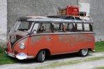 "ADAC Europa Classic 2018: VW T1 Sambabus Achtsitzer ""Sonder-Modell"" (1956)"