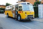 ADAC Europa Classic 2018: Ein alter Schweizer Postbus vom Typ FBW 40