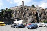ADAC Europa Classic 2018: Das Castelgrande in Bellinzona
