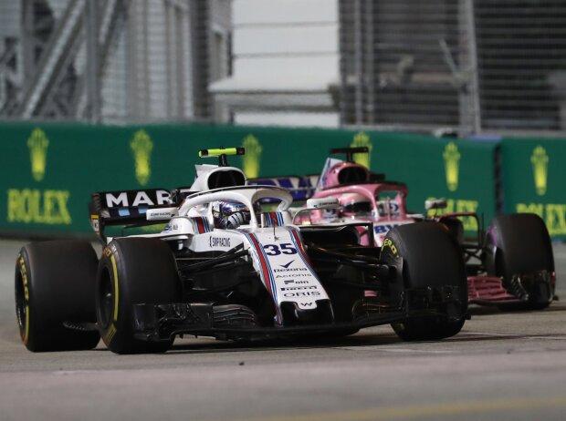 Sergei Sirotkin, Sergio Perez