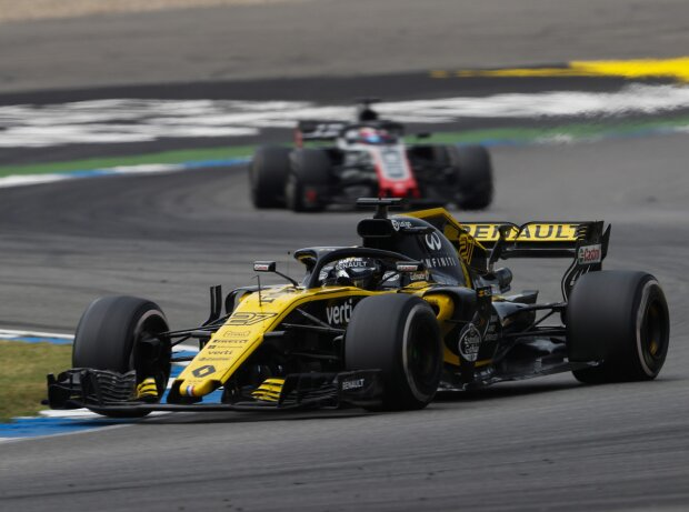 Nico Hülkenberg, Romain Grosjean