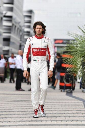 Antonio Giovinazzi Sauber Alfa Romeo Sauber F1 Team F1 ~Antonio Giovinazzi ~