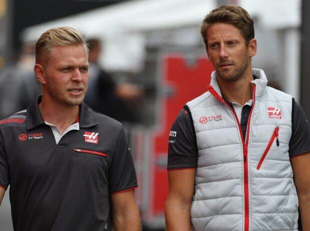 Kevin Magnussen, Romain Grosjean