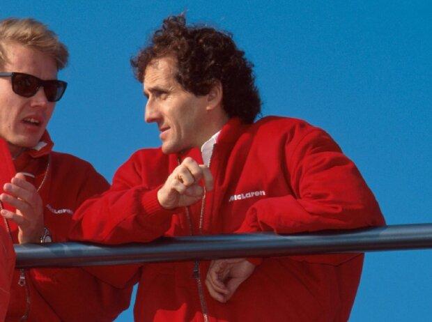 Alain Prost, Mika Häkkinen
