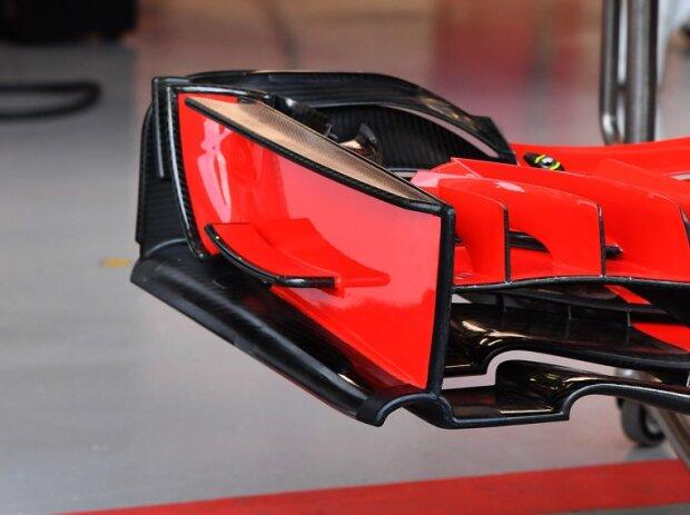 Frontflügel. Ferrari