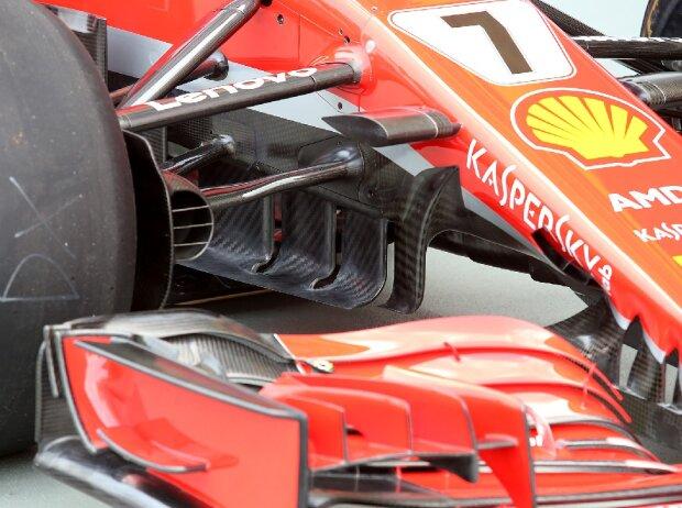 Leitbleche, Ferrari
