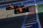 Fernando Alonso (McLaren) und Stoffel Vandoorne (McLaren)