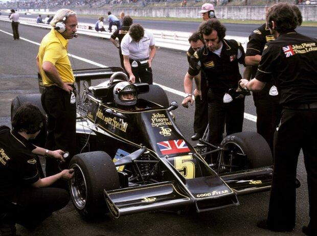 Mario Andretti, Colin Chapman