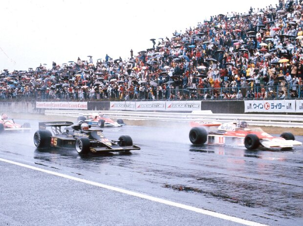 James Hunt, Mario Andretti, Niki Lauda