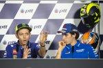 Valentino Rossi und Alex Rins