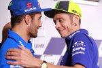 Andrea Iannone und Valentino Rossi