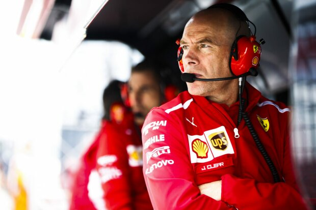 Jock Clear Ferrari Scuderia Ferrari F1 ~Jock Clear (Ferrari) ~