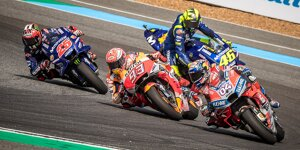 MotoGP in Thailand: Marquez besiegt Dovizioso in packendem Finish