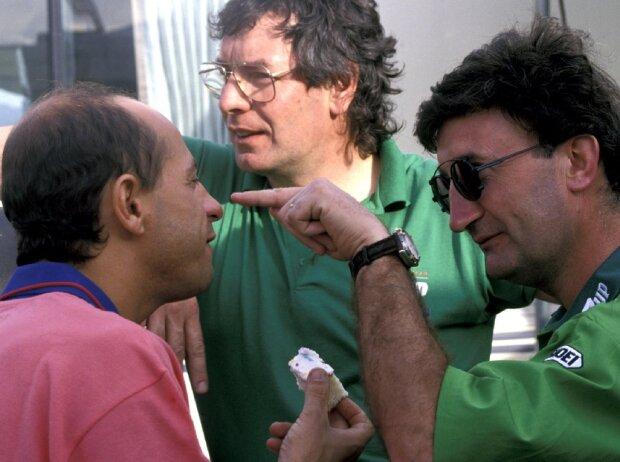 Eddie Jordan, Roberto Moreno