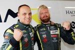 Nicki Thiim (Aston Martin) und Marco Sörensen (Aston Martin)
