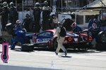 Ryan Briscoe, Richard Westbrook und Scott Dixon