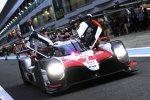 Mike Conway (Toyota) und Kamui Kobayashi (Toyota)