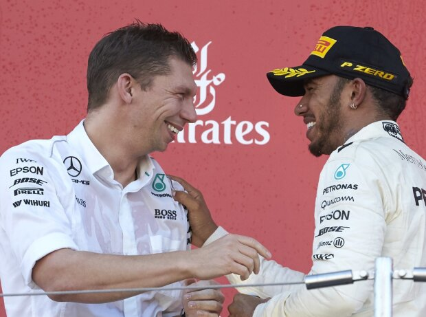 Lewis Hamilton, James Vowles